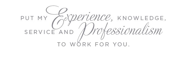 Put my experience to work for you