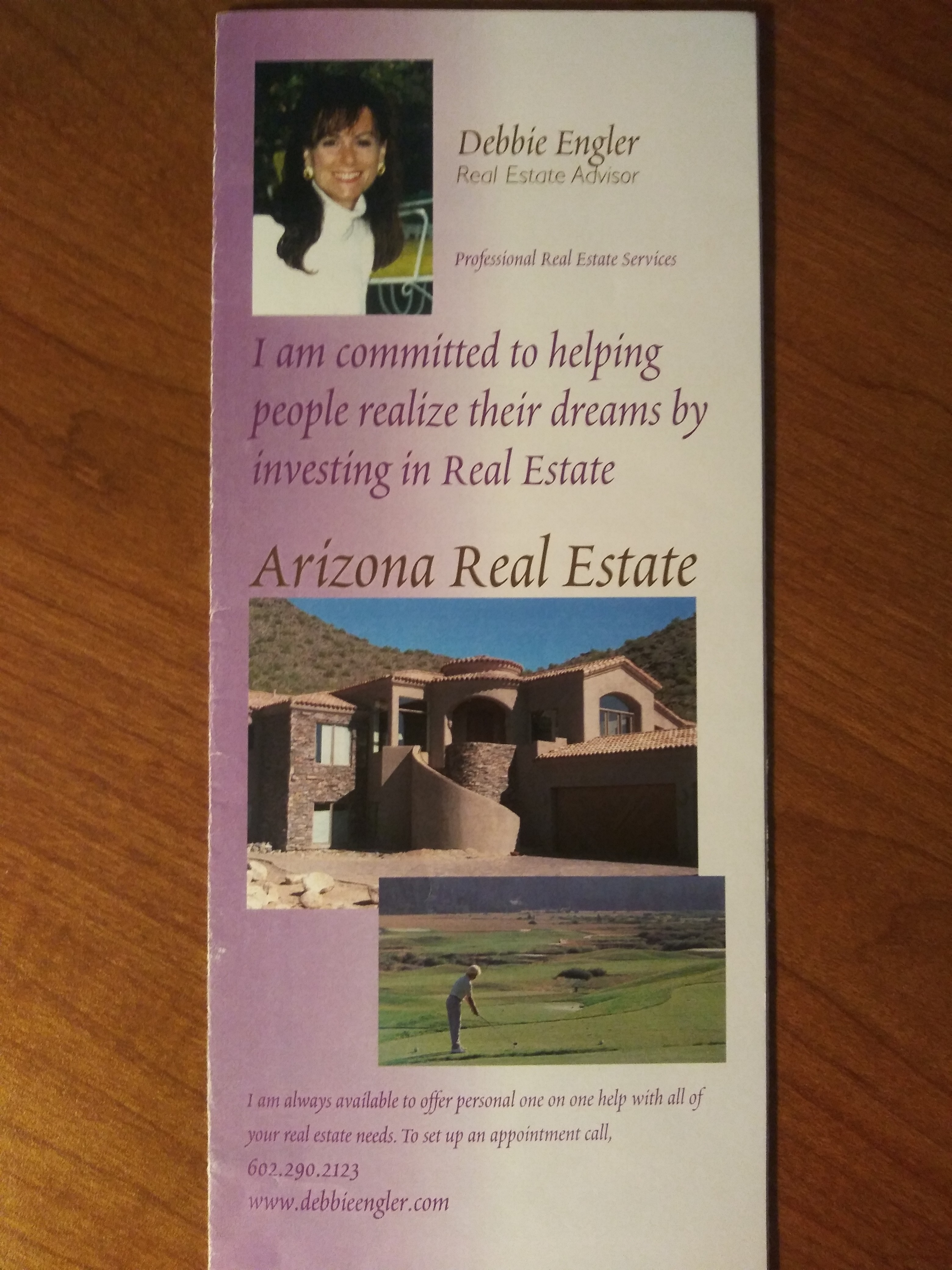 Brochure from 20 years ago